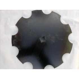 Taler disc crestat 30x30/460