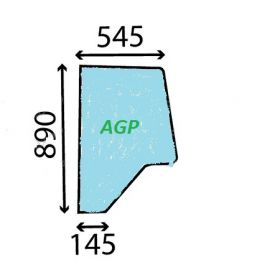 Geam usa 3233051R1.A