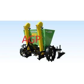 Masina plantat cartofi 300Kg cu cutie azot Bomet