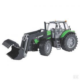 Bruder Tractor Deutz-Fahr Agrotron X720 cu incarcator  frontal