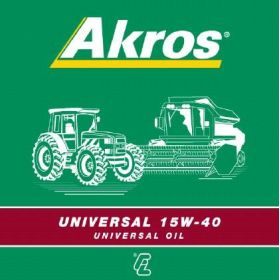 Ulei motor Universal AKROS 15W-40 20L
